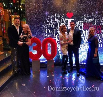 Фото с празднования дня рождения Ольги Бузовой