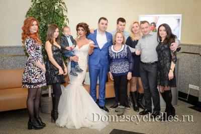 Фото со свадьбы Алианы и Александра Гобозовых