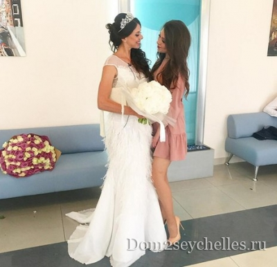 Фото со свадьбы Ольги Рапунцель и Дмитрия Дмитренко