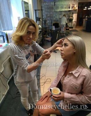 Мария Кохно впервые показала нос после ринопластики