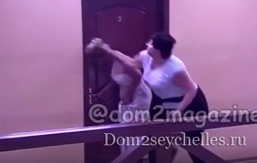 Саша Черно подралась с Машей Кохно (видео драки)