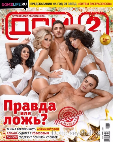 Журнал Дом 2 за январь 2019 - краткий обзор