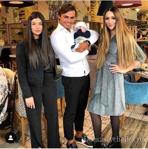 Алёна Савкина: Вот они, крестные мама и папа моего сыночка Богдана