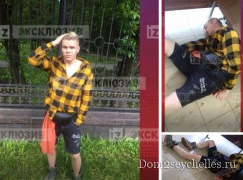 Пьяный Алексей Кудряшов был доставлен в полицию