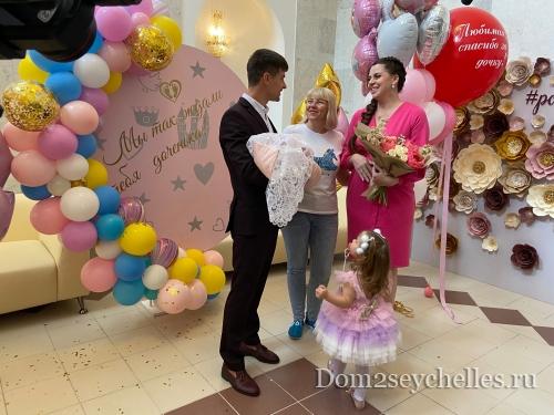 Ольгу Дмитренко выписали из роддома