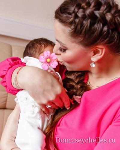 Ольга Рапунцель подробно рассказала, как рожала вторую дочку